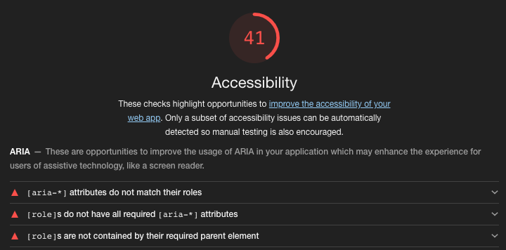 Home Assistant Accessibility