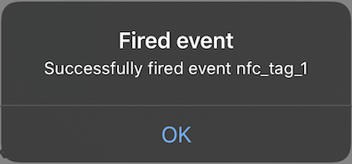 Fired Event