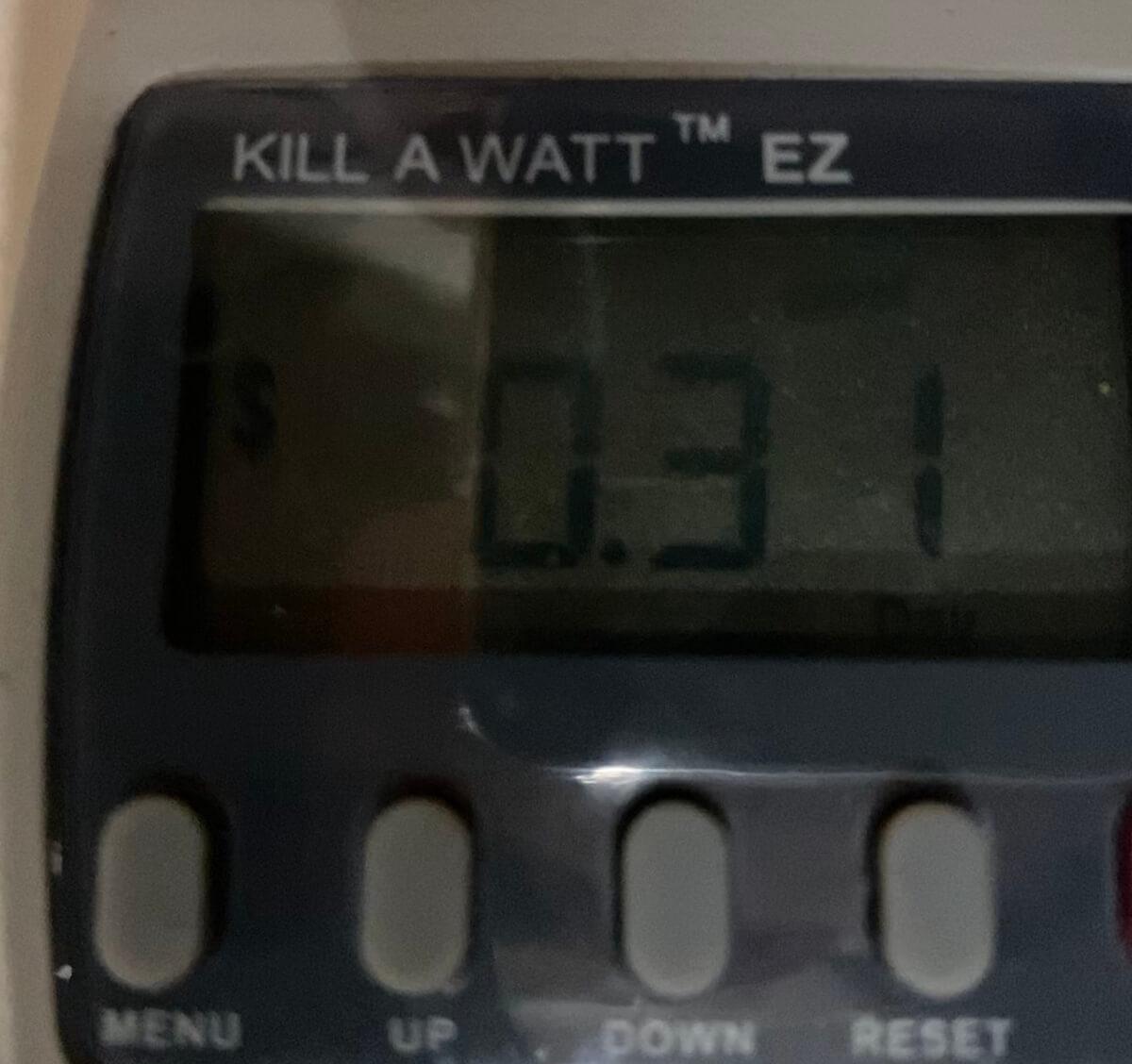 Kill A Watt - Wemo