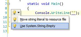 Replace Empty Strings